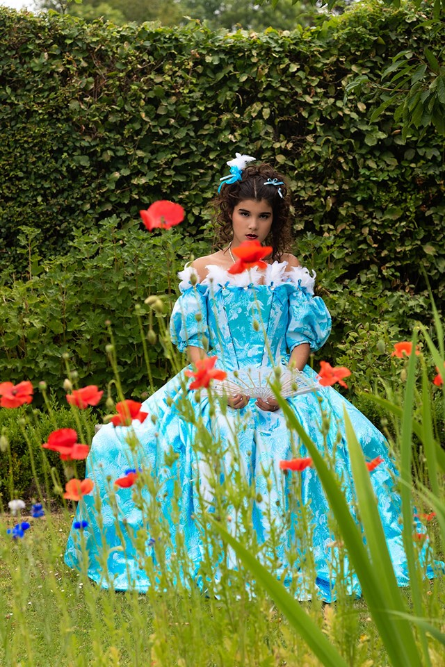 animation costumée shooting photo duchesse louise de la vallière il était une fois made in france