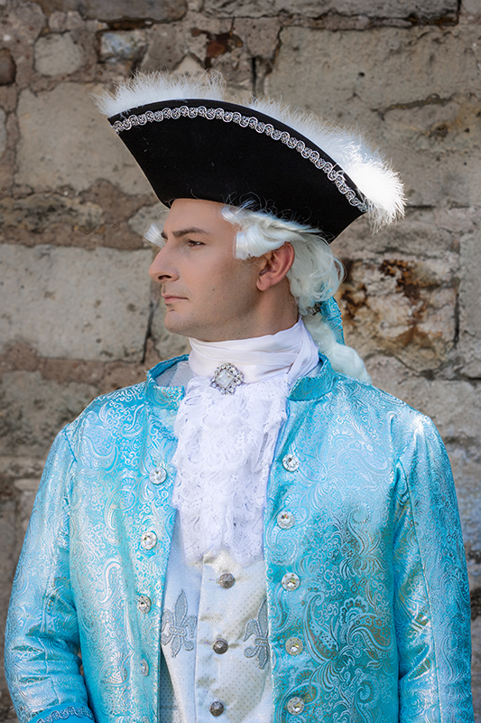 animation spectacle shooting seance photo costume louis xv il etait une fois made in france