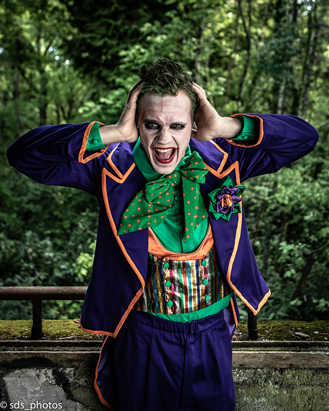 cosplay made in france le joker dc comics batman