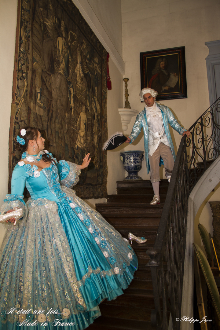 cendrillon perdant sa chaussure il etait une fois made in france