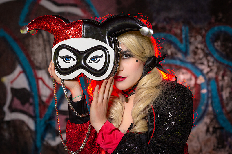 harley quinn spectacle theatre animation lancement de produit made in france