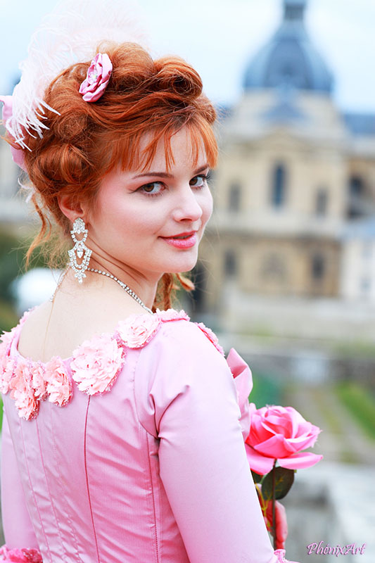 reine france marie antoinette animation costumee versailles il etait une fois made in france