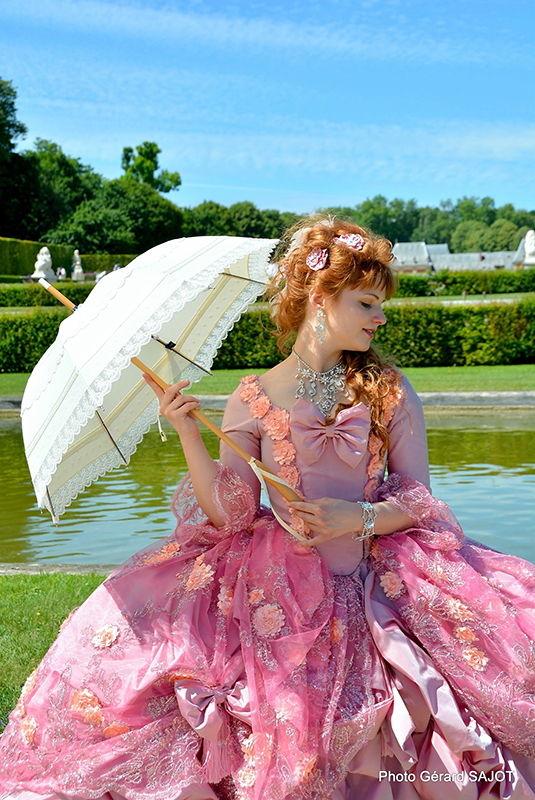 meet up photographes photo marie antoinette princesse baroque costume 18 ème siècle il était une fois made in france