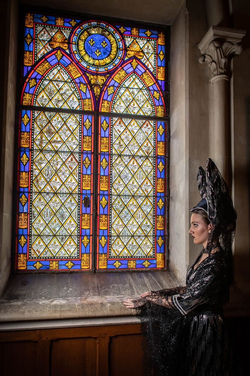 shooting photo animation prestation costumée costume médiéval fantastique il était une fois made in france maléfique maleficent