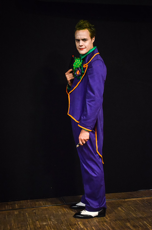 le joker dc comics cosplay costume il était une fois made in france shooting photo