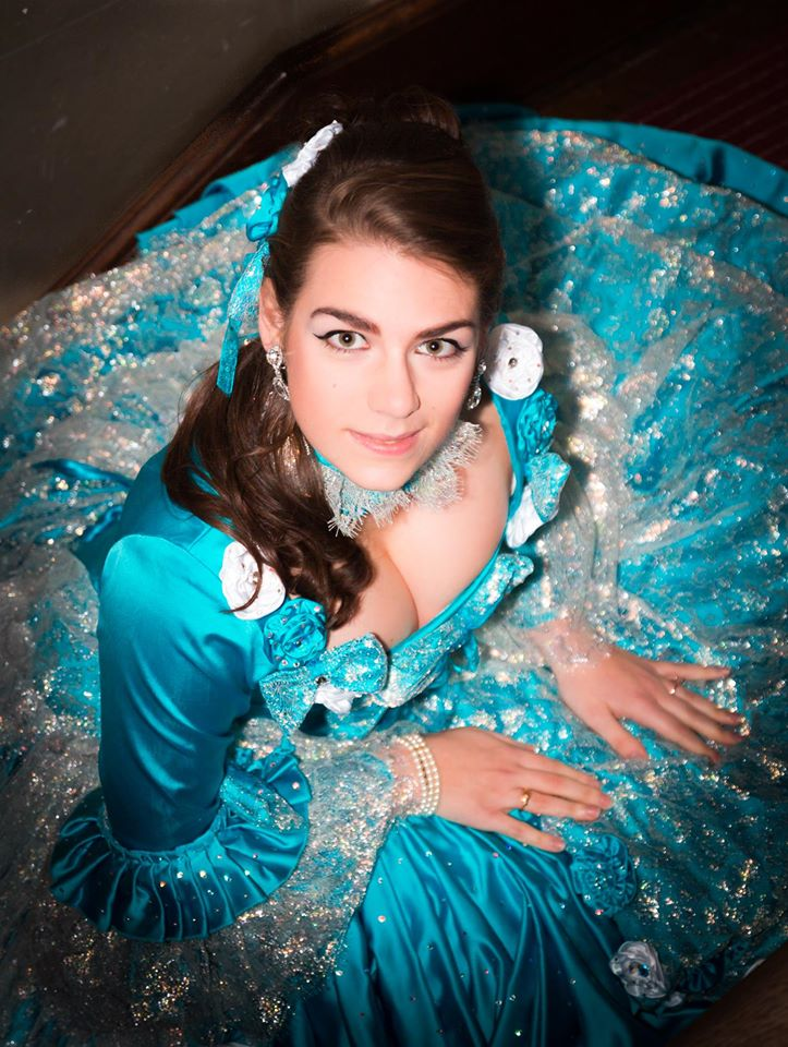 portrait cendrillon shooting photo costume il etait une fois made in france