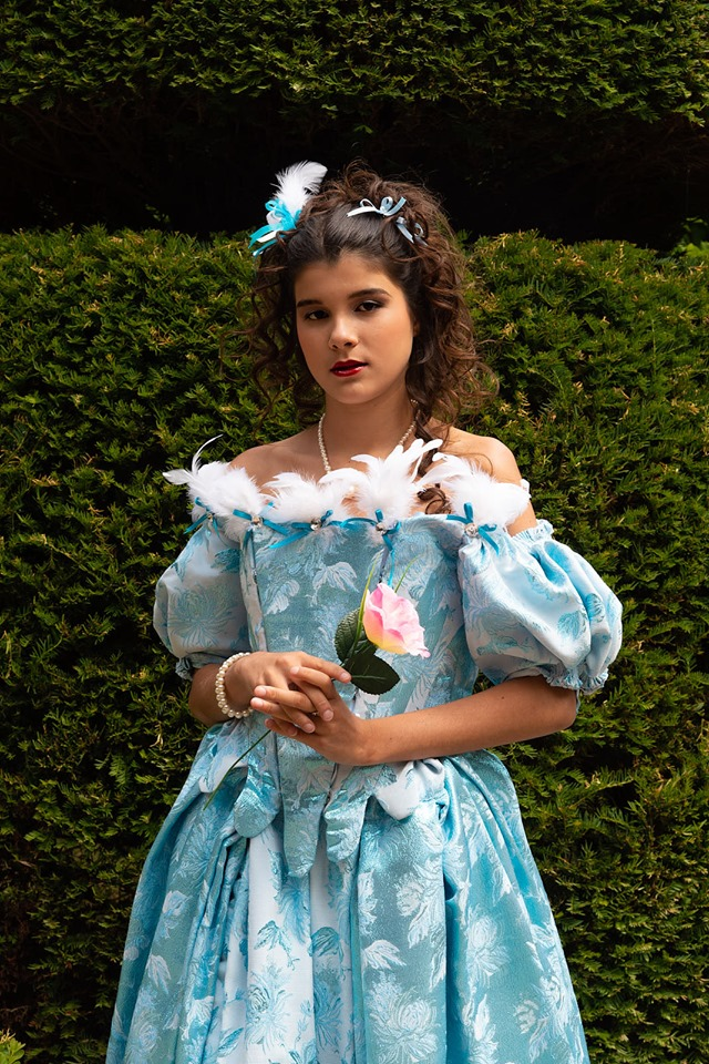 portrait shooting photo costume baroque il était une fois made in france